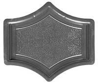 Форма для тротуарной  плитки Рондо крест малый. За 50шт. - 12.96 грн.