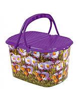 Корзина для пикника Elif 355 бабочки