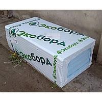 Экструзионный пенополистирол Экоборд , 1200x600x20 мм, Г4 (уп 21 плита.)
