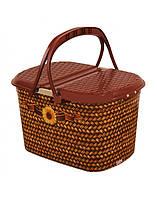 Корзина для пикника Elif 355 плетение