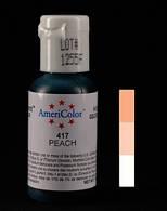 Краситель пищевой гелевый Персиковый 21 г  Americolor