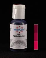 Барвник харчовий гелевий  Americolor Burgundy / Бордовий
