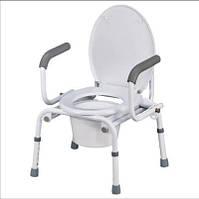 Кресло-туалет с откидными подлокотниками Nova A8900AD