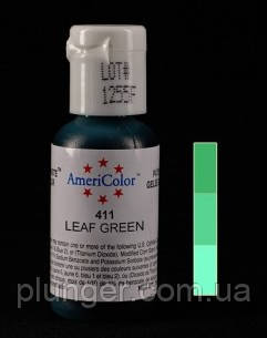 Краситель пищевой гелевый Americolor Leaf green / Зеленая листва
