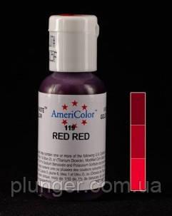 Гелевый краситель Ameriсolor Red red / Красный