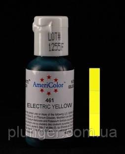 Краситель пищевой гелевый Americolor Electric yellow / Желтый электрик