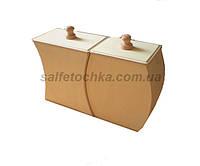 Короба для сыпучих фигурные (набор)