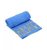 Красивое махровое полотенце