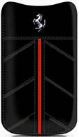 Чехол для телефона для iPhone 4 Ferrari California leather sleeve medium, black (FECFSLMB)