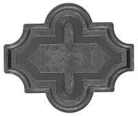 Форма для тротуарной плитки Мелирия с узором. За 50 шт. - 14.16 грн.