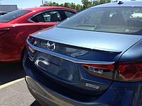 Спойлер багажника для Mazda 6 2013-on
