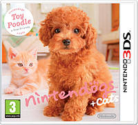 Игра 3DS Nintendogs + Cats: Toy Poodle & New Friends (USA) б/у