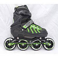 Роликові ковзани Cool Slide M-6005 розмір 35-38 зелений