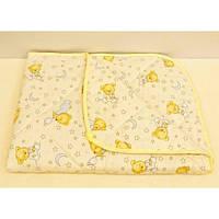 Детское одеяло-плед - легкое, стеганное