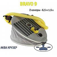 Bravo 9 - двухкамерный ножной насос для лодки (Браво 9), фото 1