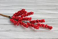 Веточка красной бузины, 18см