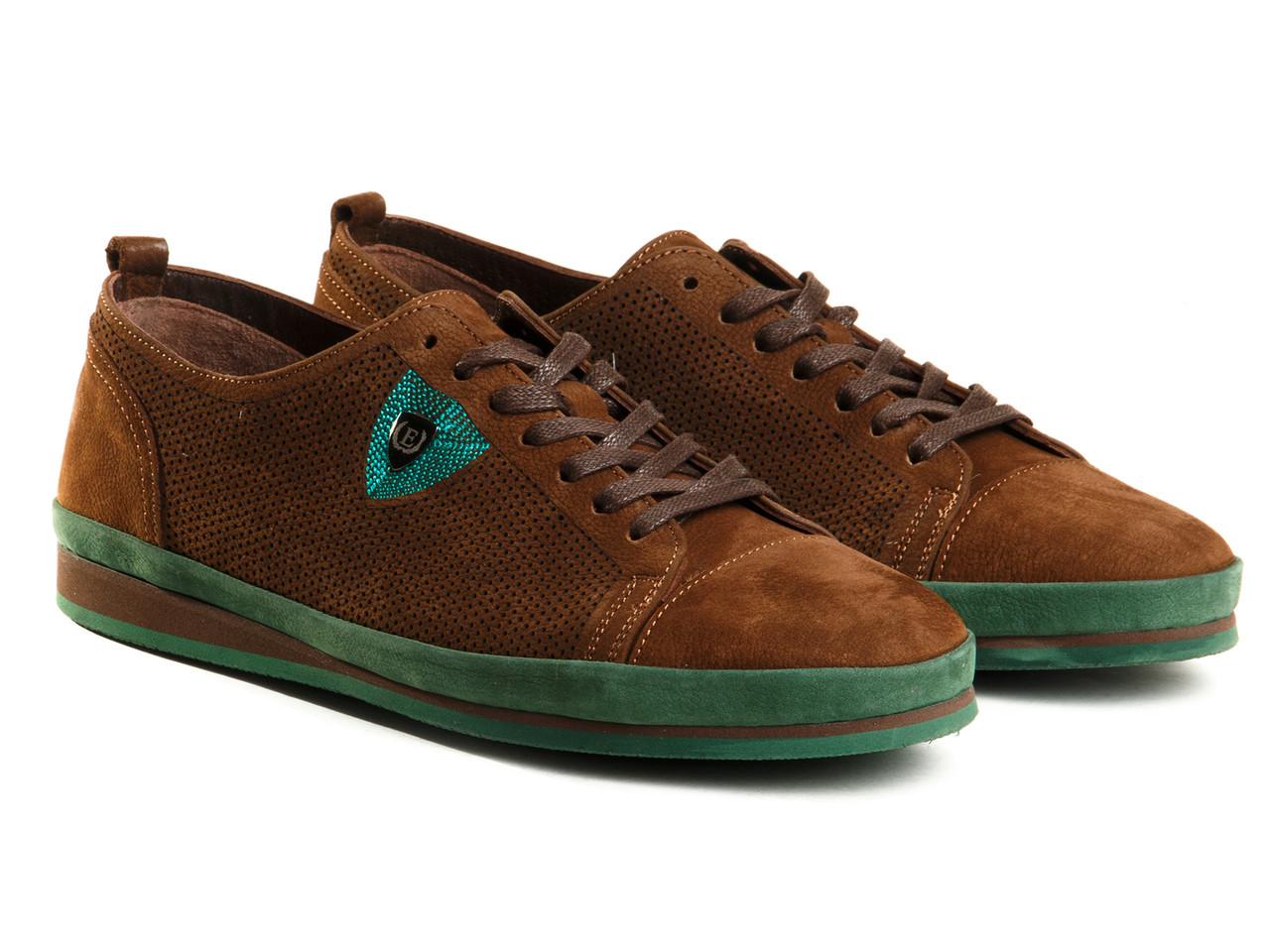 Кроссовки Etor 8632-84-6-03 42 коричневые