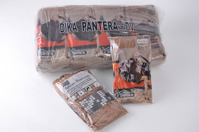 Колготки «Pantera» 100 den 2 вставки (Арт. 00150/Visone), фото 2