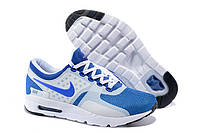 Мужские кроссовки Nike Air Max Zero Royal Blue White , фото 1