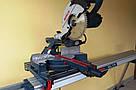 Торцовочная пила с протяжкой бу Bosch PCM 8S + верстак для резки профилей Bosch GTA 3700, фото 5