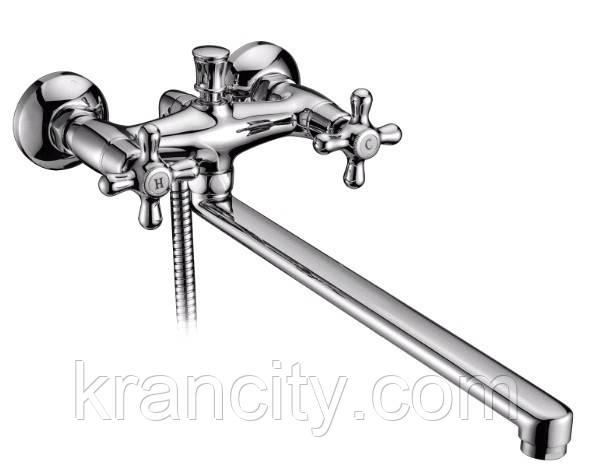 RALSKO NEW смеситель для ванной двухвентильный, хром, IMPRESE 35240NEW+ПОДАРОК