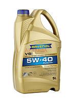 RAVENOL масло моторное 5w-40 VSI /Renault RN 0710, Opel/GM GM-LL-B-025/ - 5 л