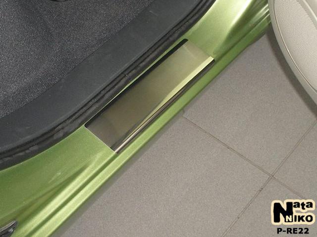 Накладки на пороги Premium Renault Scenic III 2009-