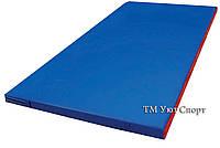Мат гимнастический размером 2 х 1 х 0,05 м