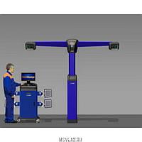 Стенд регулировки углов установки колес а/м V 7204 TS