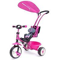 Детский трехколесный Велосипед Milly Mally  BOBY DELUX PINK (розовый)