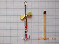 Турбинки-рыболовные + латунь №2 (латунь)