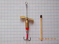 Турбинки-рыболовные + латунь №1 (латунь)