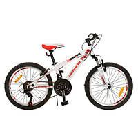Детский спортивный велосипед Profi G20A315-L1-UKR-2 орнамент 20 дюймов