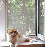 Установить защитные сетки на окна