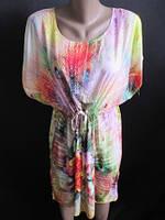 Яркое платье с красивым принтом, фото 1