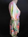 Яркое платье с красивым принтом, фото 2