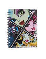 Kite Блокнот Monster High, 80 листов, А5