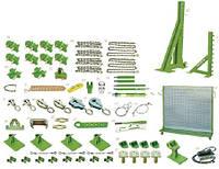 Стенд с силовыми башнями, гидравликой и аксессуарами D100