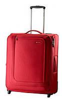 Большой чемодан на двух колесах Carlton