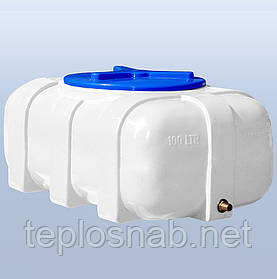 Пластиковый бак (емкость квадратная) RK 100 О/овал однослойная