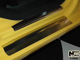 Накладки на пороги Premium Seat Leon II 2005-