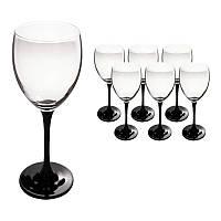 Набор бокалов для вина (6шт/190 мл) Luminarc Domino J0042