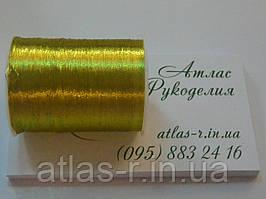 Нить люрексовая, цвет - золото