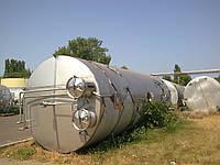Емкости из нержавеющей стали 50м3, цистерны, танки, бочки.