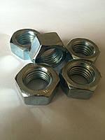 М16 Гайка шестигранная Дин 934 аналог ГОСТ 5927-70, ГОСТ 5915-70