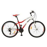 Спортивный велосипед Profi Trike G26K329-UKR бело-красный 26 дюймов