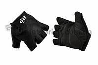 "Перчатки без пальцев   ""FOX""   GLOVE   (mod:Freeride, size:L, черные)"