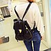 Женский рюкзак из кожзама , фото 3