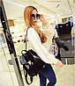 Женский рюкзак из кожзама , фото 7