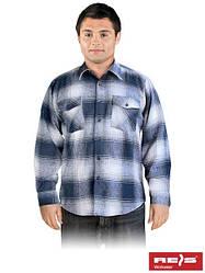 Рубашка фланелевая утепленная рабочая REIS KFLUX G